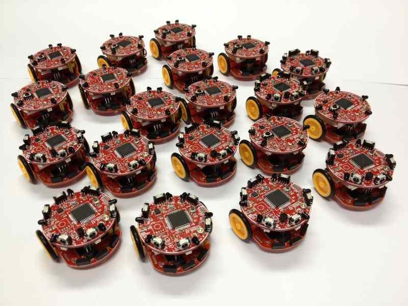Robot Swarm Construction