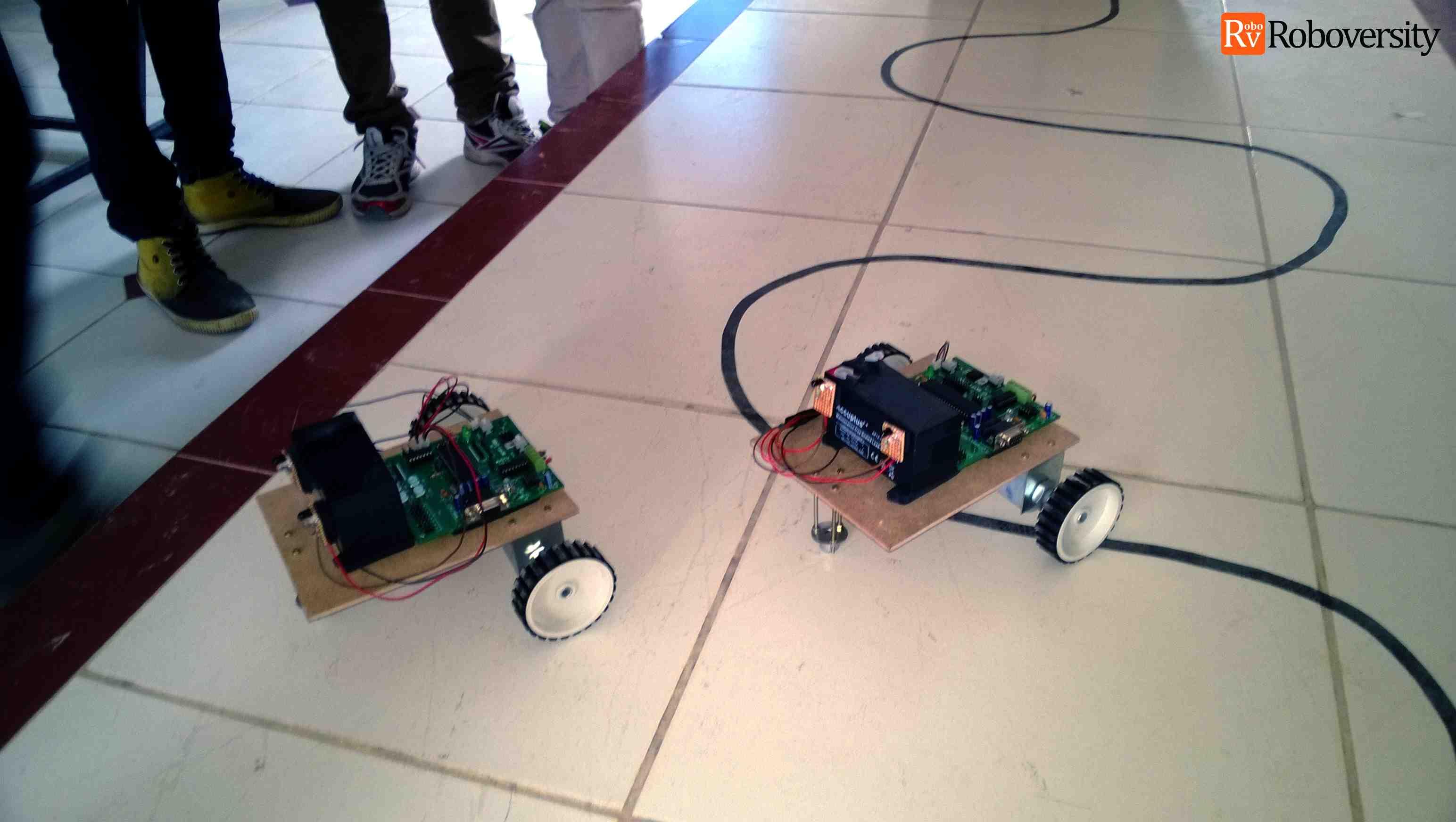 Robotics workshops in IITs