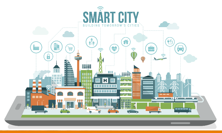 Smart city based major projects for engineering students