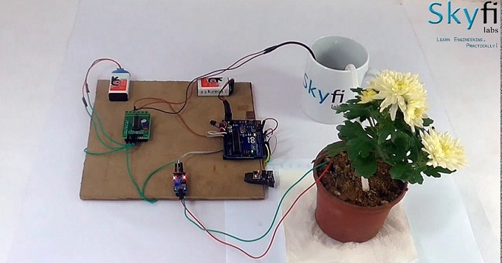 Smart Irrigation System using IoT Project for Engineering Students