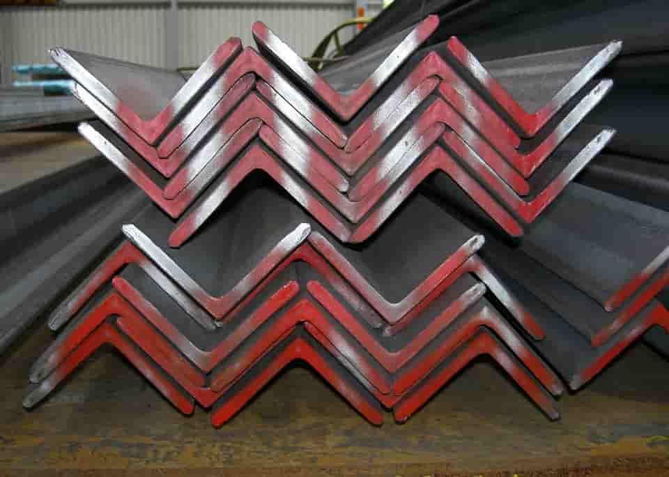 Steel angle and strip jacketing