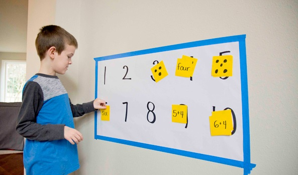Sticky Note number matching