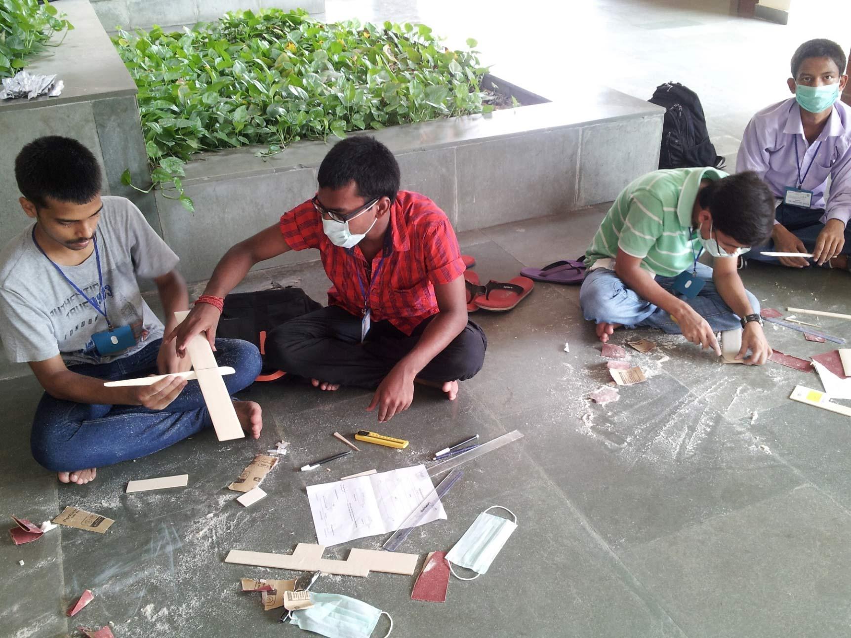 IITK Working on their Glider