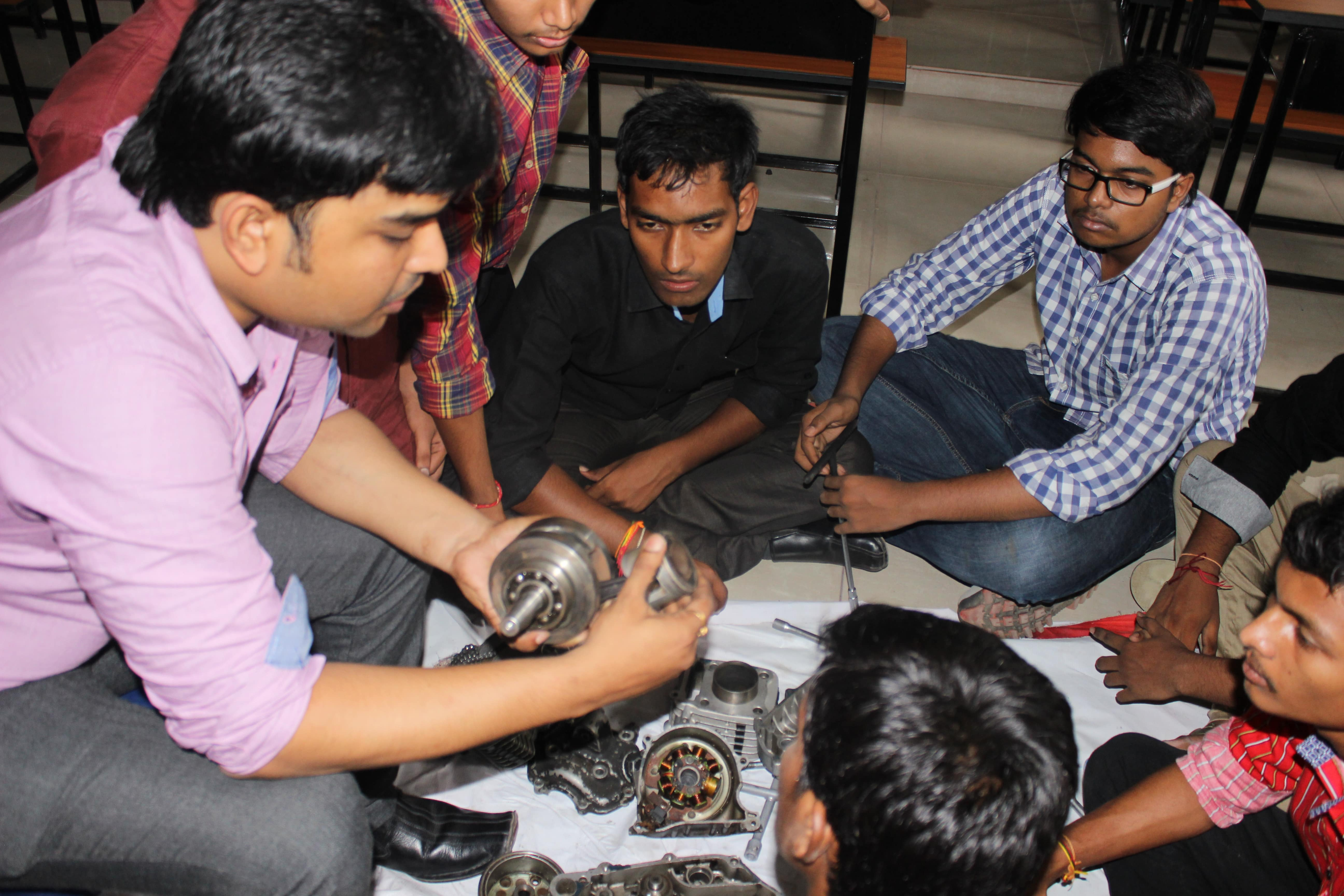 summer training for mechnical engineering students in kolkata