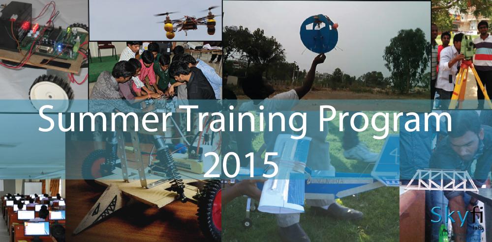 Summer Training Program 2015