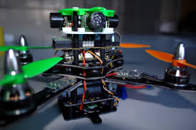 Unmanned Arial Photography using Flying Robot