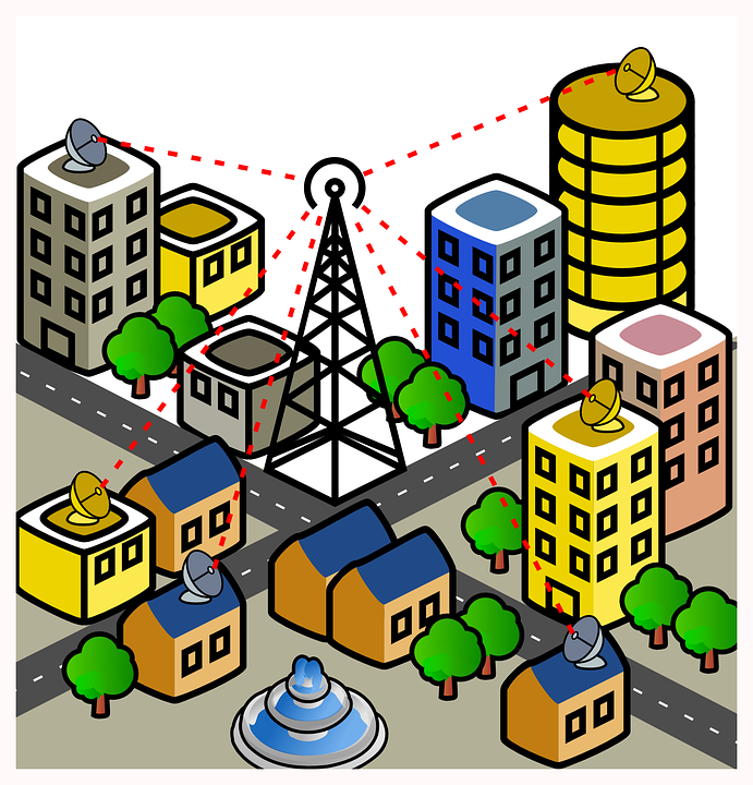 Where all Wireless Communication is used?