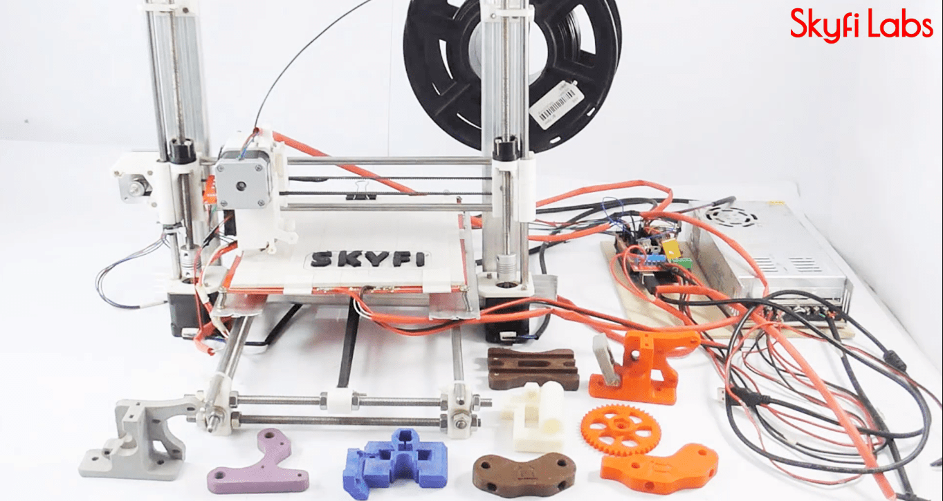 Nieuw Latest Projects based on 3D Printing RE-58