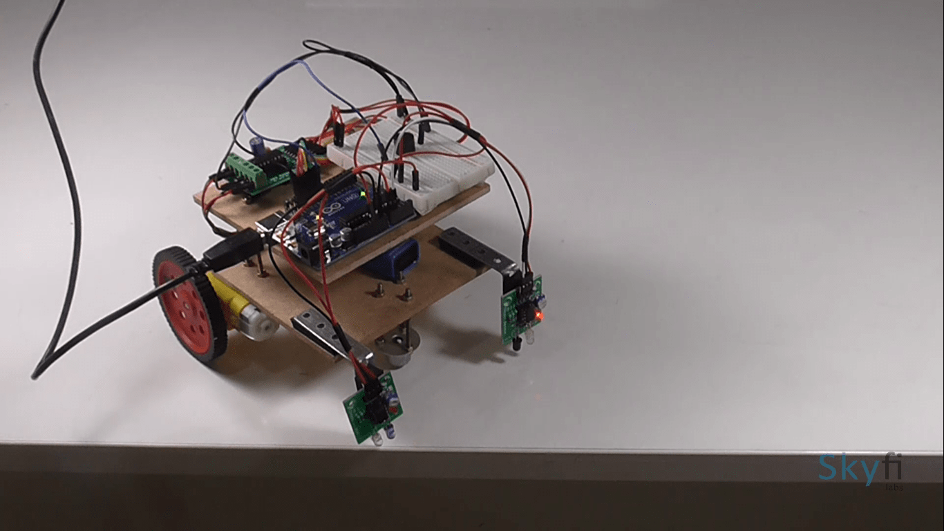Edge Detection Robot