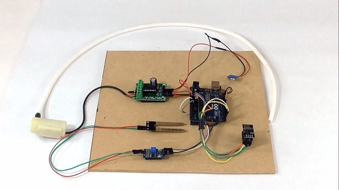 Arduino based smart irrigation monitoring and controller system using ESP8266