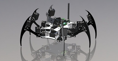 Hexapod using Arduino Project for Engineering Students