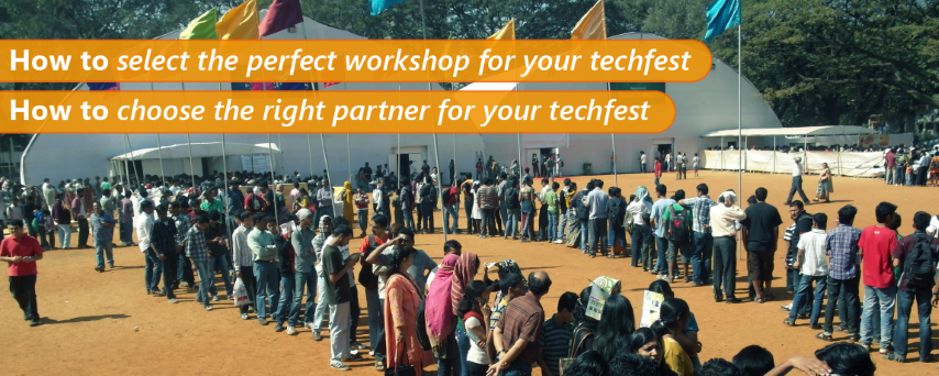 How to do Workshops as part of Tech Fest