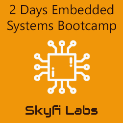 2 Days Embedded Systems Bootcamp  at Skyfi Labs Center Workshop