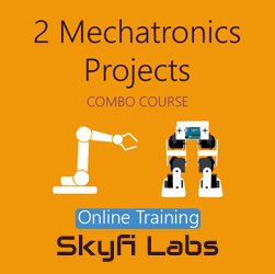 2 Mechatronics Projects (Combo Course) - Online Project-based Course  at Online Workshop