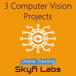 3 Computer Vision Projects Online Project-based Course (Combo Course)  at Online Workshop