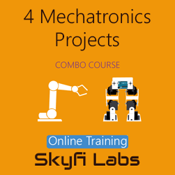 4 Mechatronics Projects (Combo Course) - Online Project-based Course  at Online Workshop
