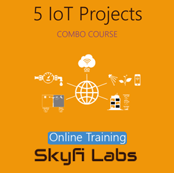 5 IoT Projects (Combo Course) - Online Project-based Course  at Online Workshop