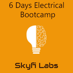 6 Days Electrical Bootcamp  at Skyfi Labs Center, Domlur, Bangalore Workshop