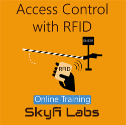 Access Control with RFID Online Project based Course  at Online Workshop