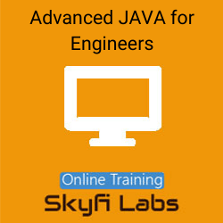 Advanced JAVA for Engineers Online Live Course  at Online Workshop