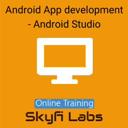 Android App development using Android Studio Online Live Course  at Online Workshop
