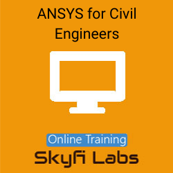 ANSYS for Civil Engineers Online Live Course  at Online Workshop