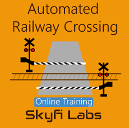 Automated Railway Crossing Online Project based Course  at Online Workshop