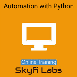 Automation with Python Online Live Course  at Online Workshop