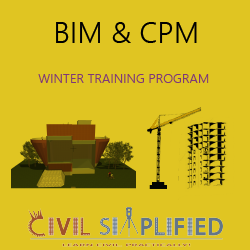 Winter Training Program on Building Information Modeling (BIM) and Construction Project Management in Noida/ Delhi