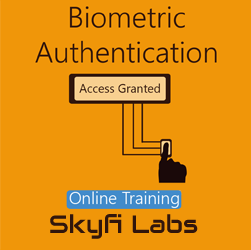 Biometric Authentication Online Project based Course  at Online Workshop