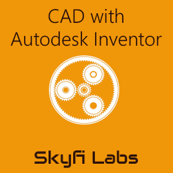 CAD with Autodesk Inventor  at Skyfi Labs Center, Mandeep Education Academy, New Rajinder Nagar Workshop