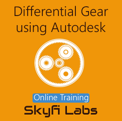 Differential Gear Design using Autodesk Inventor Online Project-based Course  at Online Workshop