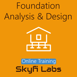 Foundation Design Online Live Course  at Online Workshop