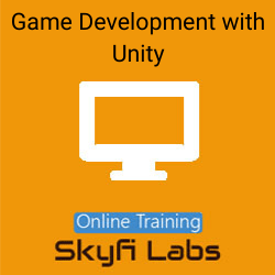 Game Development with Unity Online Live Course  at Online Workshop