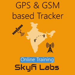 GPS & GSM based Tracker Online Project based Course  at Online Workshop