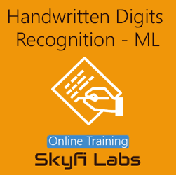 Handwritten Digits Recognition using Machine Learning  at Online Workshop