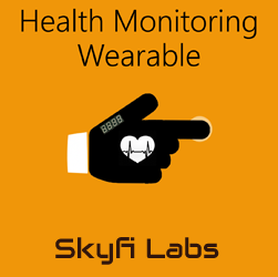 Health Monitoring Wearable Glove Workshop  at Skyfi Labs Center Workshop