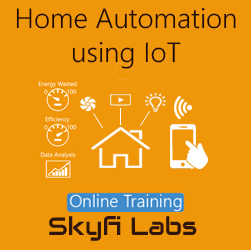 Home Automation System using IoT Online Project Based Course  at Online Workshop