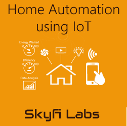 Home automation using IoT  at Skyfi Labs Center Workshop