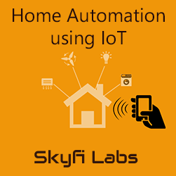 Home automation using IoT  at Mohan Mantra'18, Sree Vidyanikethan Engineering College Workshop
