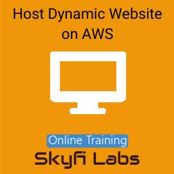 Host Dynamic Website on AWS Live Online Course  at Online Workshop
