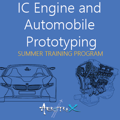 Summer Training Program on IC Engine and Automobile Prototyping  at Skyfi Labs Center, Domlur, Bangalore Workshop