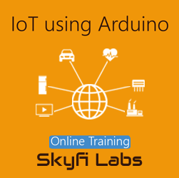 IoT using Arduino Online Project Based Course  at Online Workshop