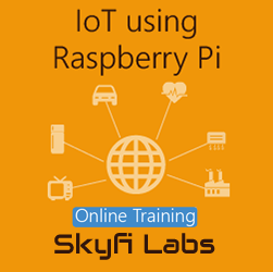 IoT using Raspberry Pi Online Project based Course  at Online Workshop