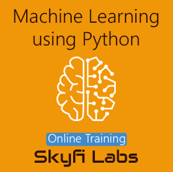 Machine Learning using Python Online Project-based Course