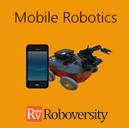 Mobile Robotics using DTMF Robotics at Eduvelocity Global Counsels Workshop