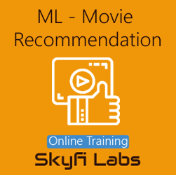 Movie Recommendation using Machine Learning Online Project-based Course  at Online Workshop