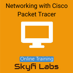 Networking with Cisco Packet Tracer Online Live Course  at Online Workshop
