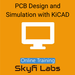 PCB Design and Simulation with KiCAD Online Live Course  at Online Workshop