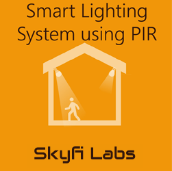 Smart Lighting System using PIR Workshop